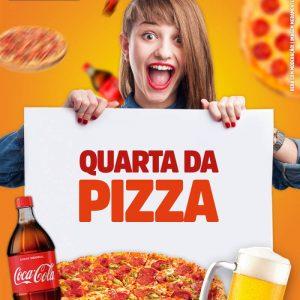 Aproveite a Quarta da Pizza no Shopping Atlântico!