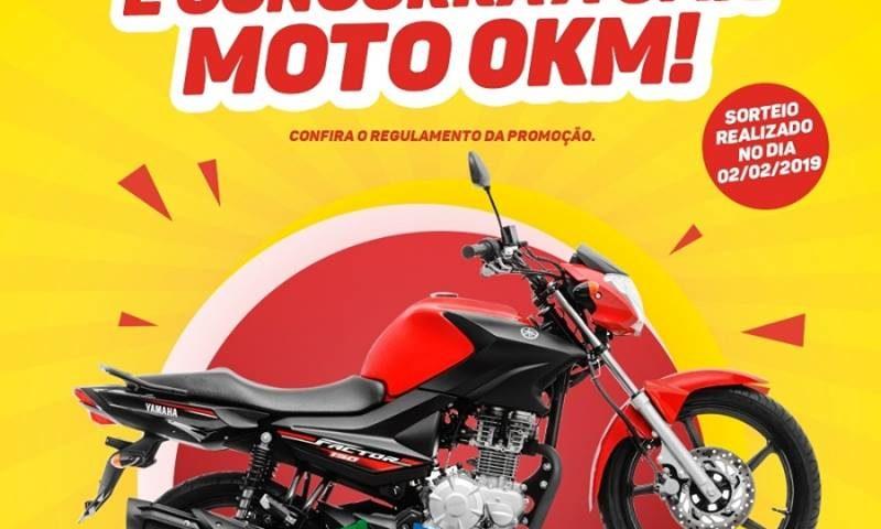 COMPRE NO SUPERMERCADO ATLÂNTICO E CONCORRA A UMA MOTO 0KM!