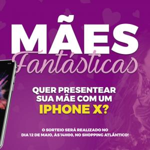 COMPRE E CONCORRA A UM IPHONE X!